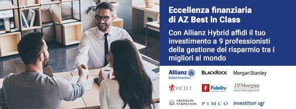 Allianz Hybrid Plan, <br/> il piano di accumulo comodo e sicuro.
